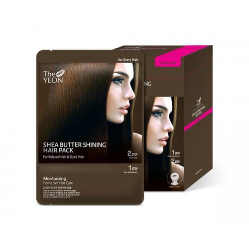 The Yeon Маска для волос с маслом Ши, 12*25гFS-36054Маска для волос с маслом ши предназначена для сухих и сильно поврежденных волос. Масло ши интенсивно увлажняет волосы, восстанавливая их структуру. Волосы становятся заметно более эластичными. В состав маски входит также комплекс темных злаков, сладкое миндальное масло, оливковое масло и витамин Е. Все эти компоненты возвращают волосам былую силу, придают сияние и блеск. Масло ши, интенсивно питает и увлажняет волосы, нормализуя гидролипидный баланс кожи головы. А компонент Saengmodan состоит из 11 ингредиентов, которые насыщают кожу и волосы питательными элементами.