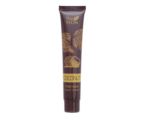 The Yeon CoconutПитательный кокосовый крем для рук, 50млУТ-00000583Увлажняющий крем для рук, обогащенный питательными элементами, которые содержатся в кокосовом масле. Интенсивное восстановление и питание кожи рук. Кокосовое масло известно своими лечебными свойствами хорошо питает, устраняет воспаления, смягчает, увлажняет и восстанавливает, препятствует возникновению трещинок, шелушений и раздражений.