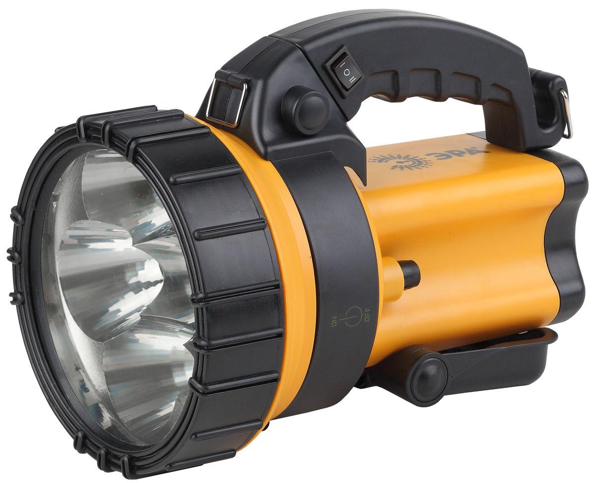 Фонарь ручной Эра, 6 x 1 Вт LED SMD, аккумулятор 4В 4,5Ач, ЗУ 220V+12VFA6WАккумуляторный светодиодный прожектор Эра:6 x 1 Вт белые светодиоды (два режима работы 50% и 100% яркости)Сигнальный красный светильник в задней части фонаряАккумулятор 4V 4,5Ah (AC3, DT4045)Подзарядка от сети 220 Вольт и бортовой сети автомобиля 12 ВольтРемень для переноски на плече.