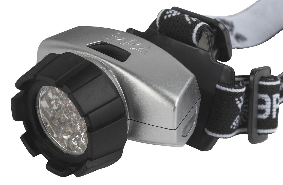 Фонарь налобный Эра, 18 x LEDG18Светодиодный налобный фонарь Эра имеет следующие характеристики: 18 белых светодиодов4 режима работы3 x AAA (в комплект не входят)