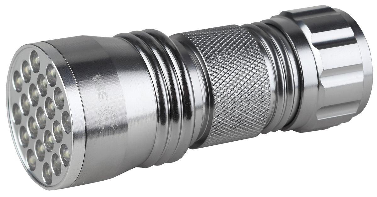 Фонарь ручной Эра, 21 x LEDSD21Светодиодный алюминиевый фонарь Эра:21 белый светодиод 3 x AAA (в комплект не входят)