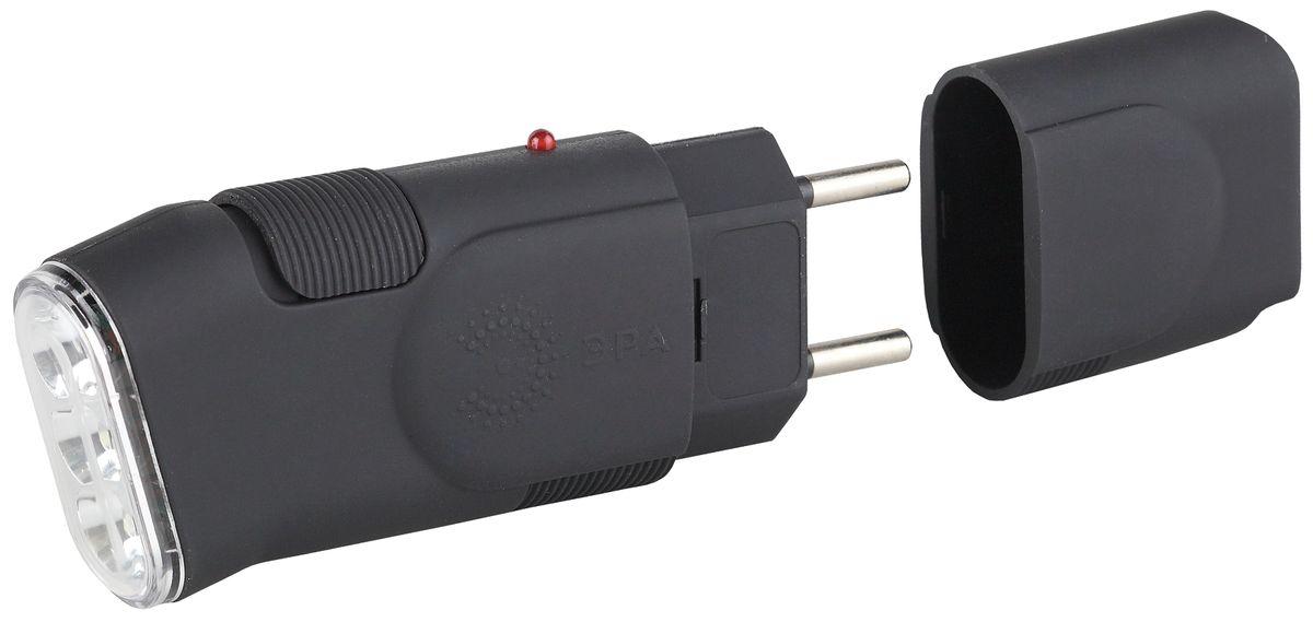 Фонарь ручной Эра, 3 x LED. SDA10MP7.2 NКомпактный аккумуляторный светодиодный фонарь Эра:3 белых светодиодаNi-MH аккумулятор типа AAAЕвровилка, прямая зарядка от сети 220 Вольт3 часа работы без подзарядки.