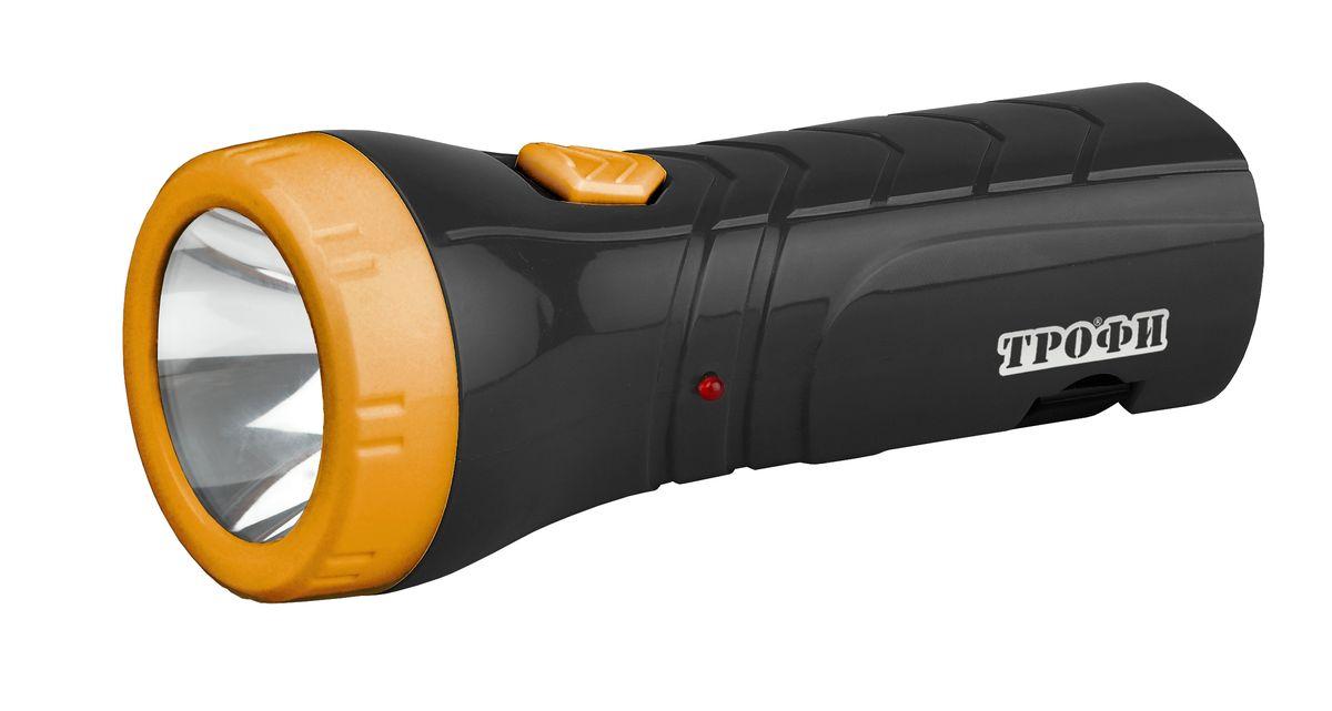 Фонарь ручной Трофи, 4 x LED, 4V 0,5AhKOCAc6009LEDКомпактный аккумуляторный светодиодный фонарь Трофи: 0,5 W светодиод (2 режима работы)Аккумулятор 4V 500mAhСкладная евровилка7 часов работы без подзарядки Упаковка: картонная коробка