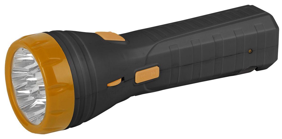 Фонарь ручной Трофи, 9 x LED, аккумулятор 4V 1Ah, с FM-радиоKOC2028LEDКомпактный аккумуляторный светодиодный фонарь Трофи 2в1:9 светодиодов в головном фонареРадио FM-диапазона!Аккумулятор 4V 900mAhСкладная евровилка6 часов работы без подзарядкиУпаковка: картонная коробка.
