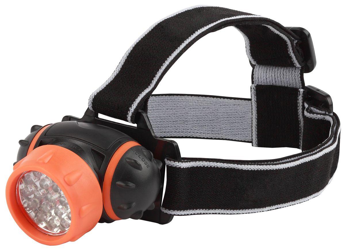 Фонарь налобный Трофи, 7 x LED67742Светодиодный налобный фонарь Трофи имеет следующие характеристики: 7 белых светодиодов4 режима работы3 x AAA (в комплект не входят) Упаковка: картонная коробка