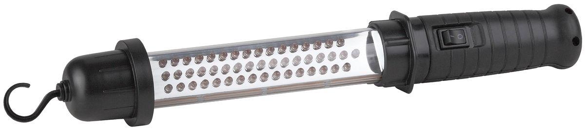 Фонарь автомобильный Эра, 48 x LED, аккумулятор 4,8 V 1,2 Ah NiMHWLA48Аккумуляторный светодиодный автомобильный фонарь ЭРА: 48 белых LED обрезиненная рукояткакрюк для подвешиванияNi-MH аккумулятор 1200 mA подзарядка и работа от сети 220 Вольт и 12 Вольт