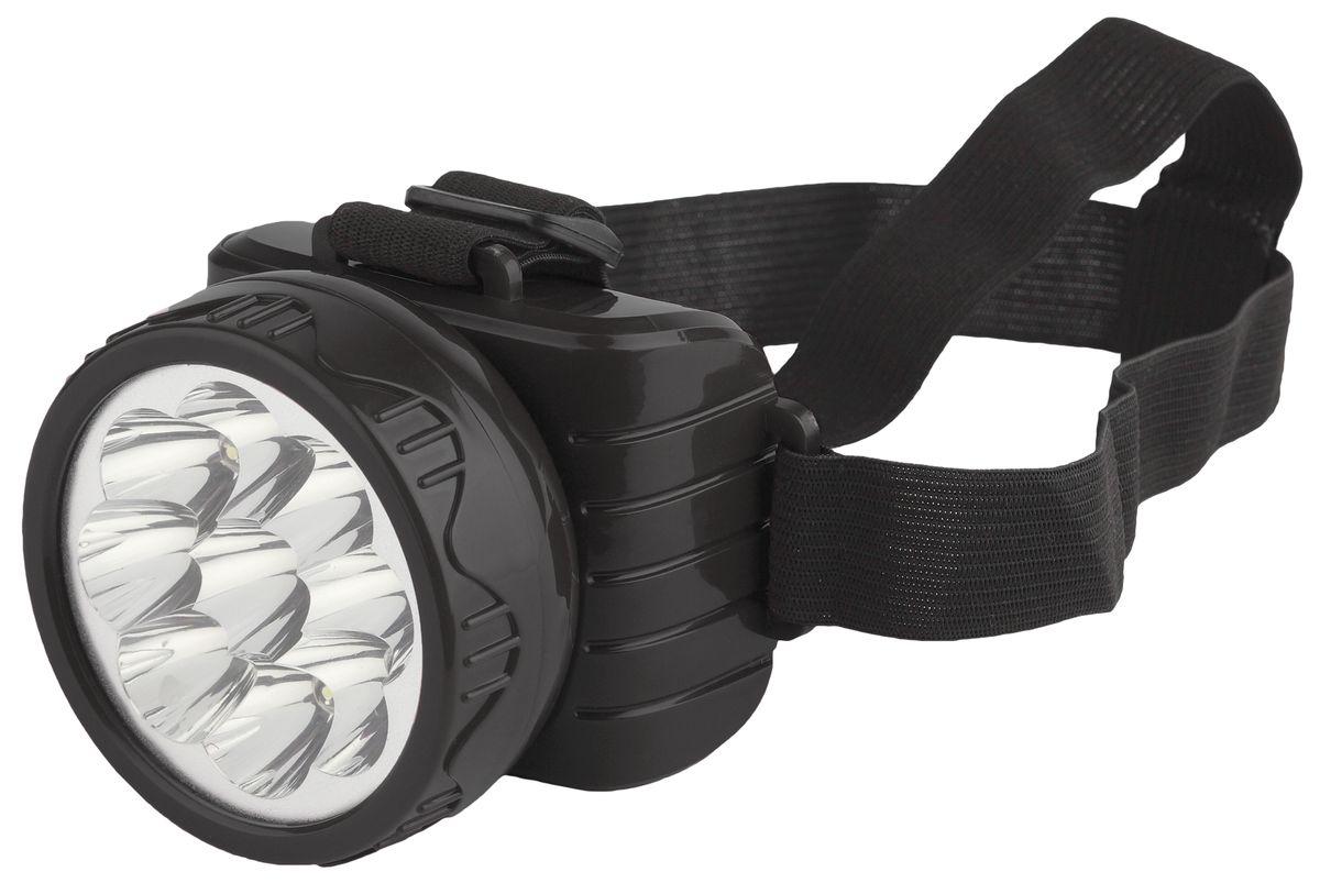 Фонарь налобный Трофи, 9 x LED67743Светодиодный налобный фонарь Трофи имеет следующие характеристики: 9 белых LED (2 режима работы)Аккумулятор 4V 900mAhПодзарядка от сети 220 Вольт