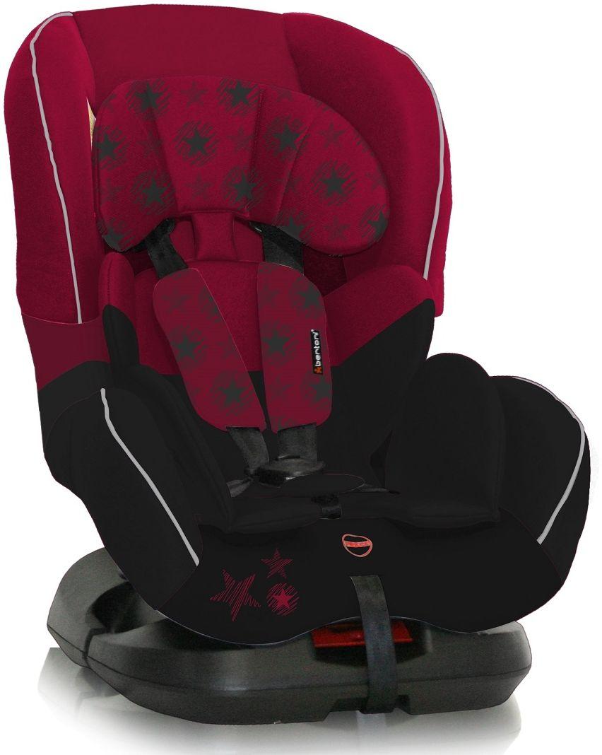 Bertoni Автокресло Concord цвет черный красный от 0 до 18 кг3800151921868Автокресло Bertoni Concord от 0 до 18 кг среднего класса повышенной надежности. Европейский стандарт безопасности ECЕ R44/04. 3 положения угла наклона кресла: сидя, полусидя, полулежа. 5-точечный, регулируемый по высоте ремень безопасности с мягкими накладками. Мягкая вставка из натуральной ткани. Легко съемная моющаяся тканевая часть. Простой монтаж.