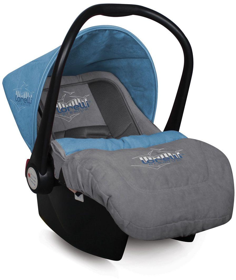 Lorelli Автокресло-переноска Lifesaver цвет синий серый от 0 до 13 кг -  Автокресла