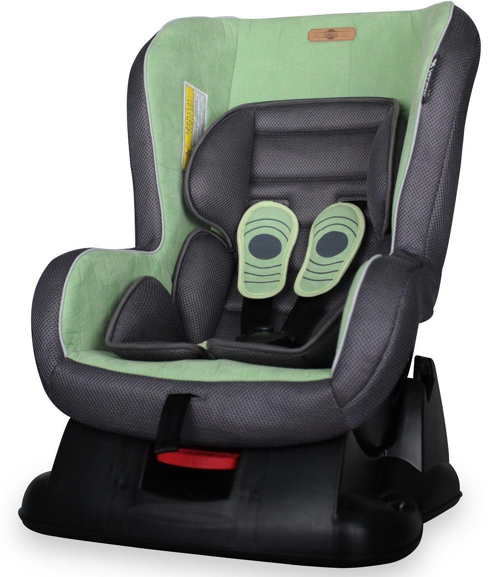 Lorelli Автокресло Grand Prix цвет зеленый от 0 до 18 кг80625Автокресло Lorelli Grand Prix от 0 до 18 кг среднего класса повышенной надежности. Европейский стандарт безопасности ECЕ R44/04. 3 положения угла наклона кресла: сидя, полусидя, полулежа. 5-точечный, регулируемый по высоте ремень безопасности с мягкими накладками. Мягкая вставка из натуральной ткани. Легко съемная моющаяся тканевая часть. Простой монтаж.