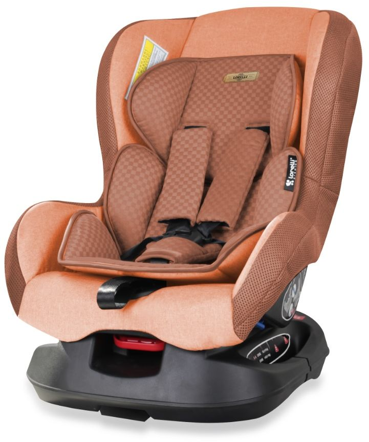 Bertoni Автокресло Saturn цвет бежевый коричневый от 0 до 18 кгCA-3505Автокресло Bertoni Concord от 0 до 18 кг среднего класса повышенной надежности. Европейский стандарт безопасности ECЕ R44/04. 3 положения угла наклона кресла: сидя, полусидя, полулежа. 5-точечный, регулируемый по высоте ремень безопасности с мягкими накладками. Мягкая вставка из натуральной ткани. Легко съемная моющаяся тканевая часть. Простой монтаж.