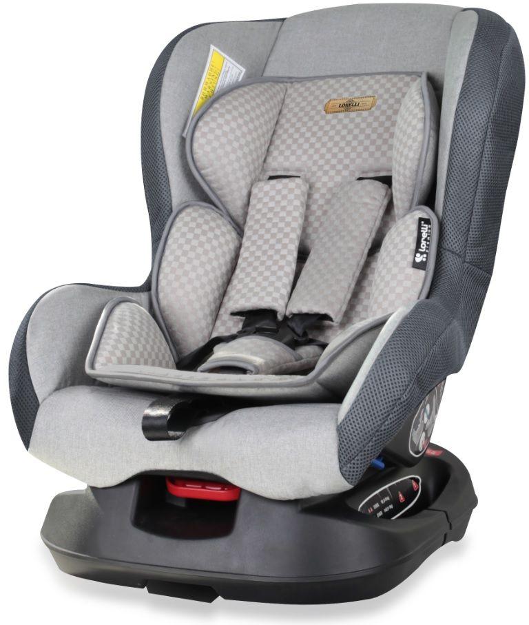 Bertoni Автокресло Saturn цвет серый от 0 до 18 кгCA-3505Автокресло Bertoni Concord от 0 до 18 кг среднего класса повышенной надежности. Европейский стандарт безопасности ECЕ R44/04. 3 положения угла наклона кресла: сидя, полусидя, полулежа. 5-точечный, регулируемый по высоте ремень безопасности с мягкими накладками. Мягкая вставка из натуральной ткани. Легко съемная моющаяся тканевая часть. Простой монтаж.