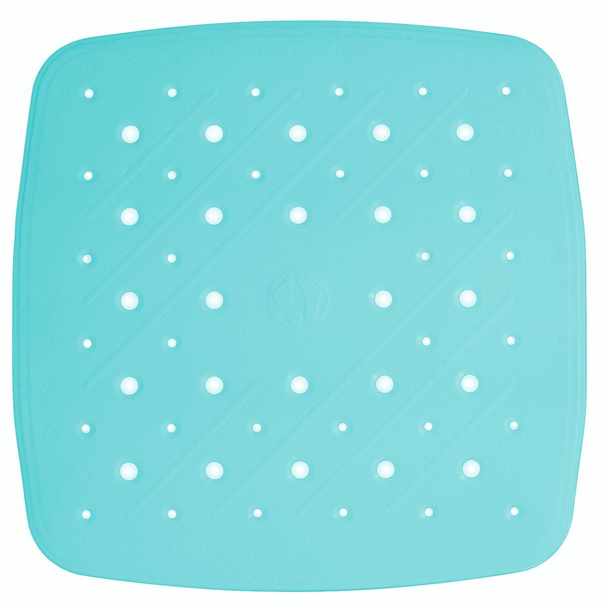 Коврик для ванной Ridder Promo, противоскользящий, на присосках, цвет: голубой, 51 х 51 см531-105Высококачественный немецкий коврик Ridder Promo создан для вашего удобства.Состав и свойства противоскользящего коврика: - синтетический каучук и ПВХ с защитой от плесени и грибка; - имеются присоски для крепления. Безопасность изделия соответствует стандартам LGA (Германия).
