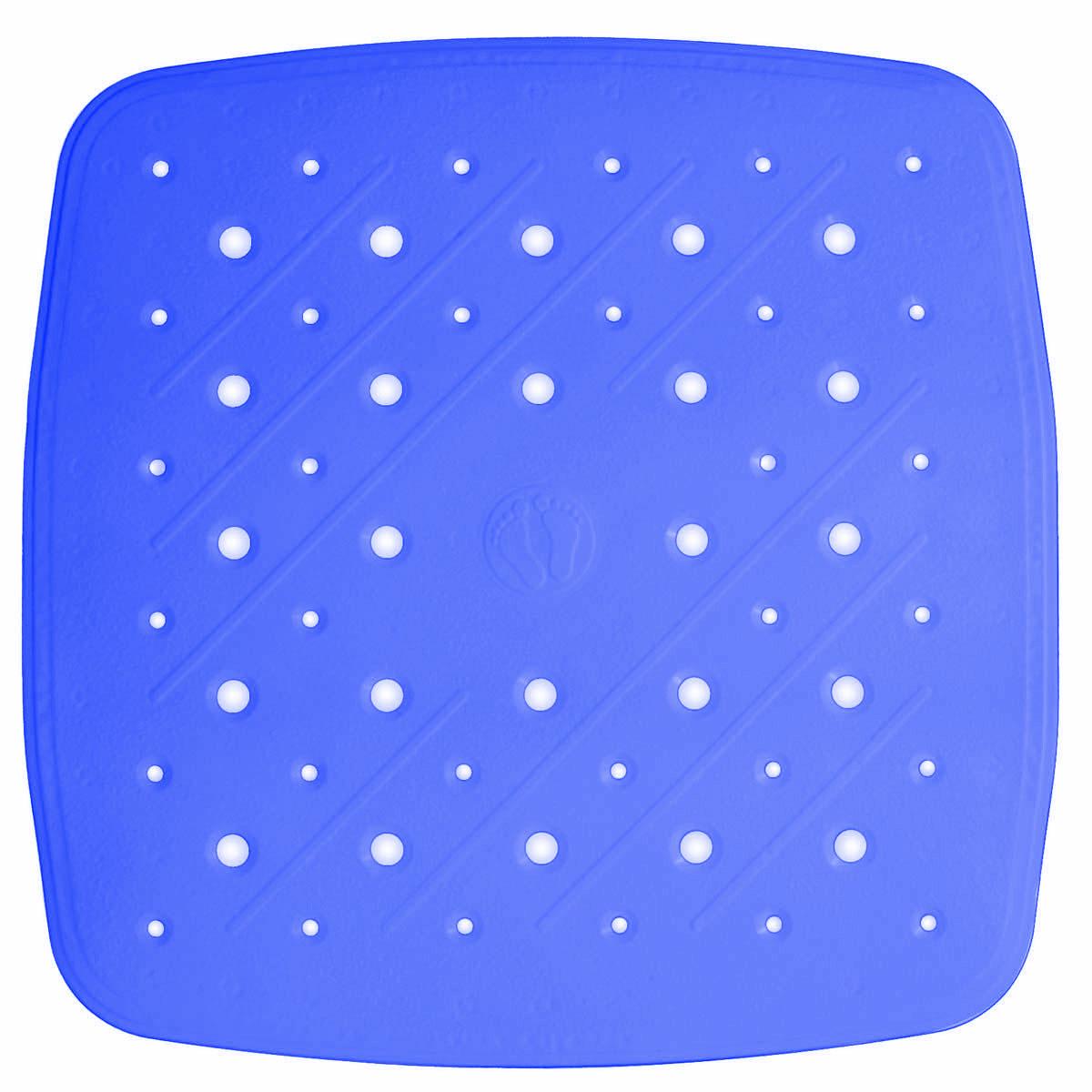 Коврик для ванной Ridder Promo, противоскользящий, на присосках, цвет: синий, 51 х 51 смRG-D31SВысококачественный немецкий коврик Ridder Promo создан для вашего удобства.Состав и свойства противоскользящего коврика: - синтетический каучук и ПВХ с защитой от плесени и грибка; - имеются присоски для крепления. Безопасность изделия соответствует стандартам LGA (Германия).