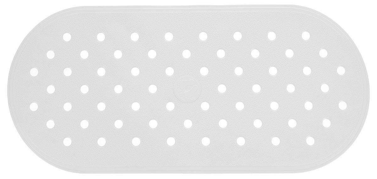 Коврик для ванной Ridder Action, противоскользящий, на присосках, цвет: белый, 36 х 80 см41616Коврик для ванной Ridder Action, изготовленный из каучука с защитой от плесени и грибка, создает комфортное антискользящее покрытие в ванне. Крепится к поверхности при помощи присосок. Изделие удобно в использовании и легко моется теплой водой.
