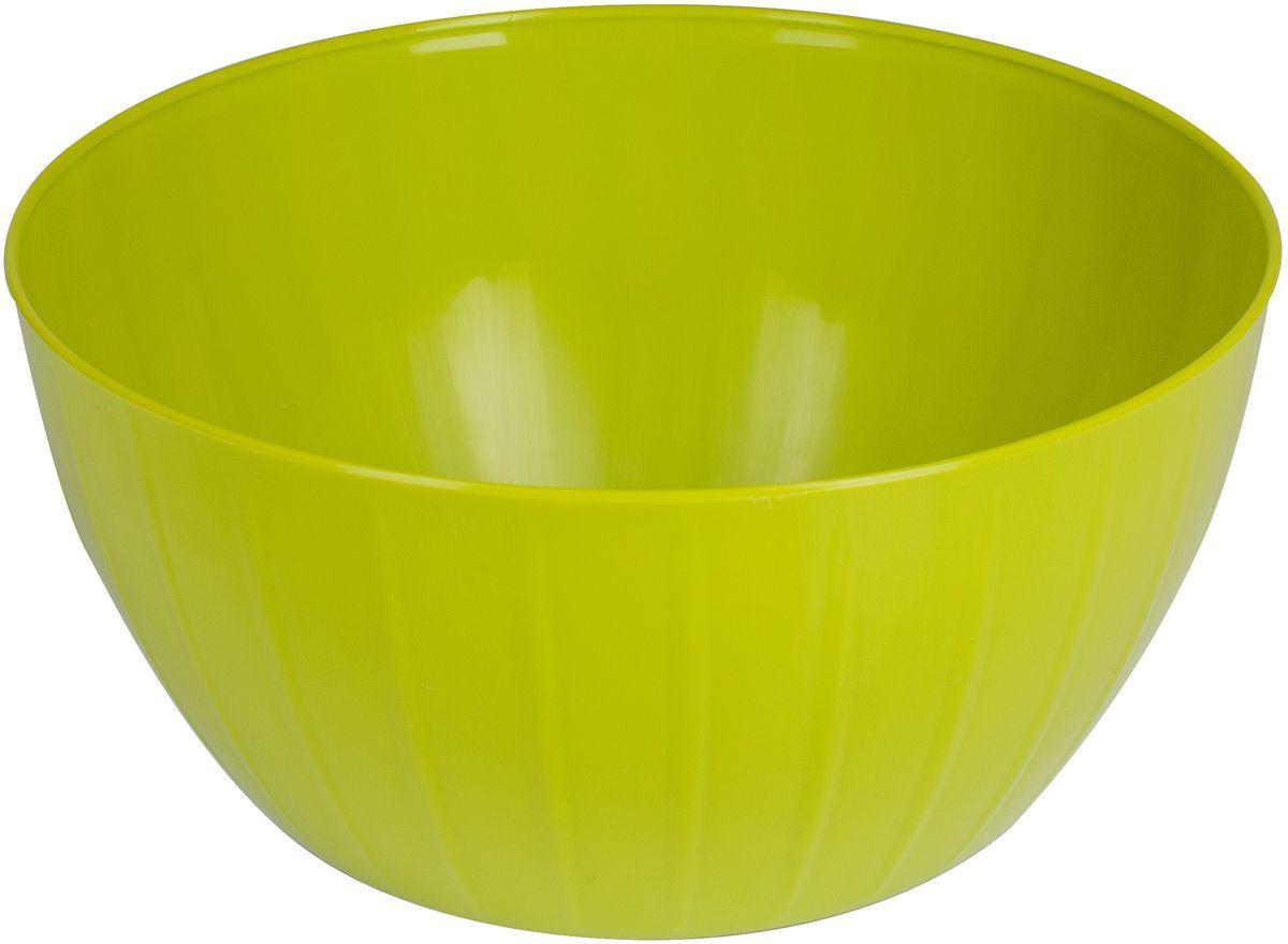 Салатник Giaretti Fiesta, цвет: оливковый, 2,8 л115510Салатник Fiesta создан специально, чтобы вы могли использовать его и в каждодневном использовании, и на торжественных приемах! Если вы хотите, чтобы на вашей кухне царил уют – выбирайте яркий, но лаконичный салатник Fiesta, который впишется в любой интерьер!