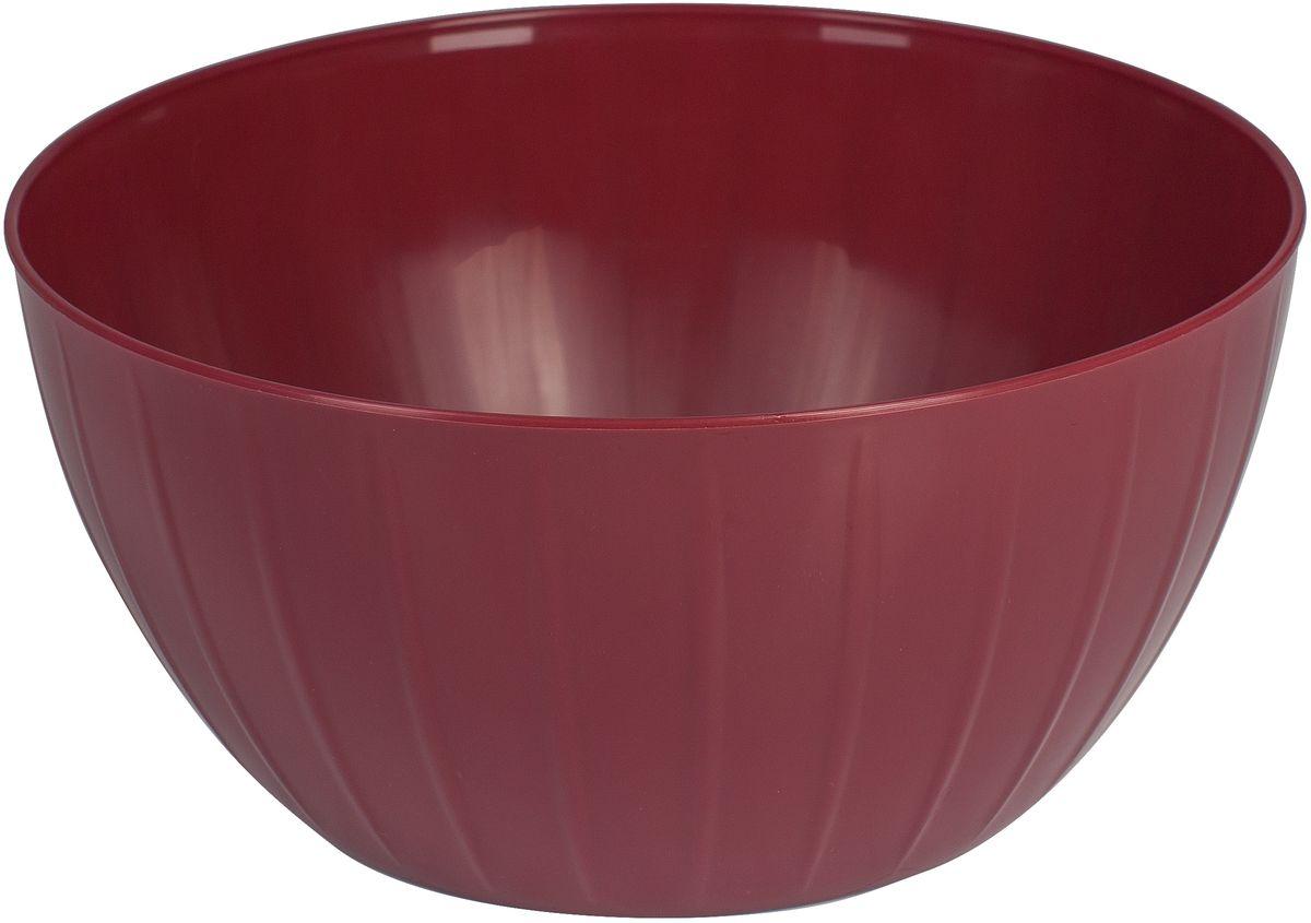 Салатник Giaretti Fiesta, цвет: ягодный, 2,8 л115510Салатник Fiesta создан специально, чтобы вы могли использовать его и в каждодневном использовании, и на торжественных приемах! Если вы хотите, чтобы на вашей кухне царил уют – выбирайте яркий, но лаконичный салатник Fiesta, который впишется в любой интерьер!