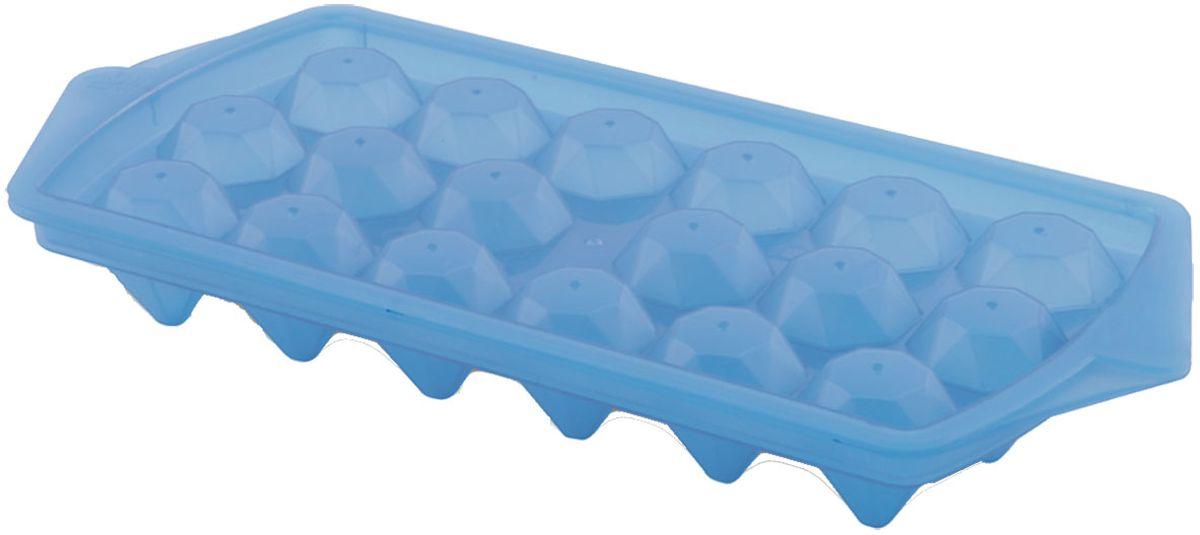 Форма для льда Plastic Centre Luxor, цвет: голубой, 27 х 12,3 смVT-1520(SR)Форма для заморозки льда Plastic Centre Luxor состоит из двух половинок - это предохранит лед от впитывания посторонних запахов. Форма имеет привлекательный дизайн и удобна в применении.Размер формы: 27 х 12,3 см.