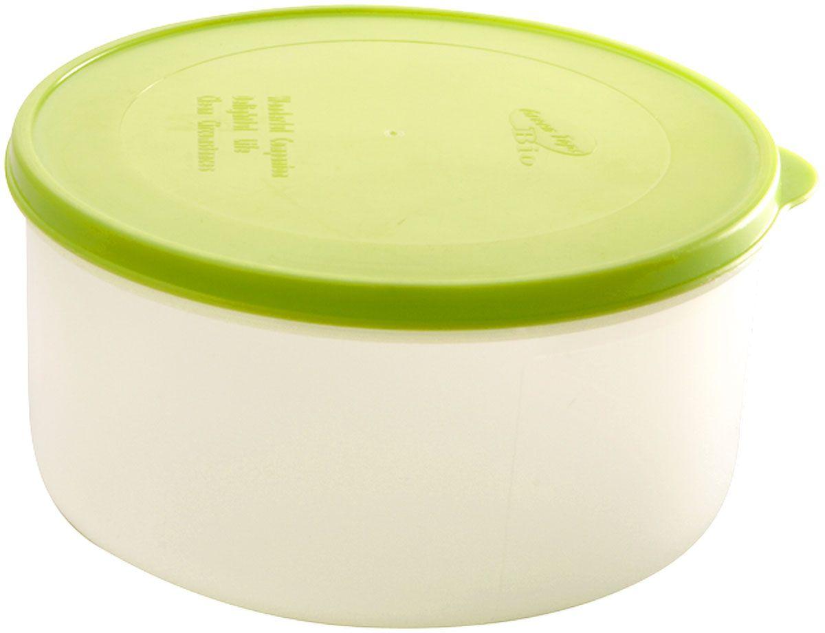 Емкость для продуктов Plastic Centre Bio, цвет: светло-зеленый, прозрачный, 1 лVT-1520(SR)Многофункциональная емкость для хранения различных продуктов, разогрева пищи, замораживания ягод и овощей в морозильной камере и т.п. При хранении продуктов в холодильнике емкости можно ставить одну на другую, сохраняя полезную площадь холодильника или морозильной камеры. Широкий ассортимент цветов удовлетворит любой вкус и потребности.