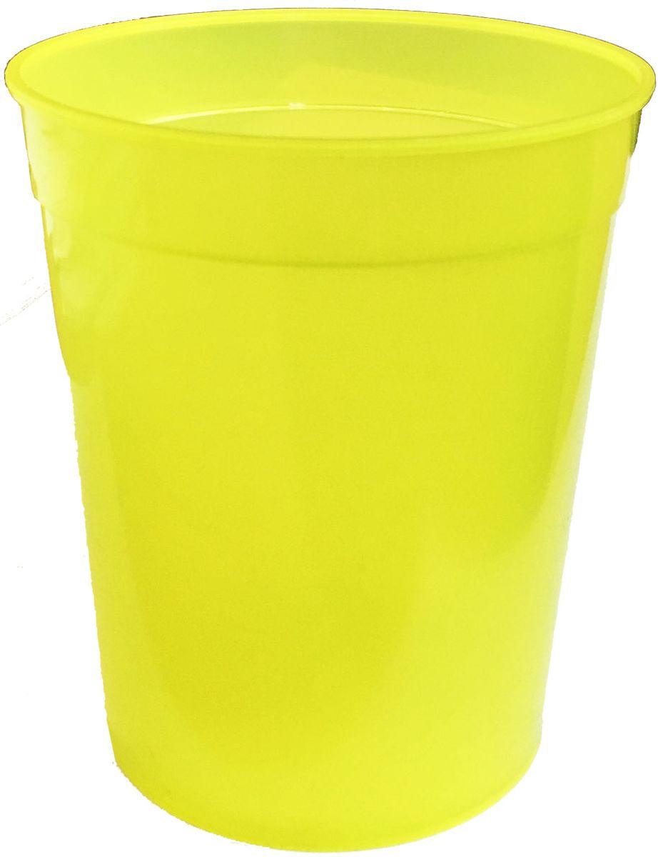 Стакан Plastic Centre, цвет: желтый, 400 млVT-1520(SR)Классический устойчивый стакан из прочного пластика предназначен для холодных и горячих напитков.Можно мыть в посудомоечной машине.Объем стакана: 400 мл.