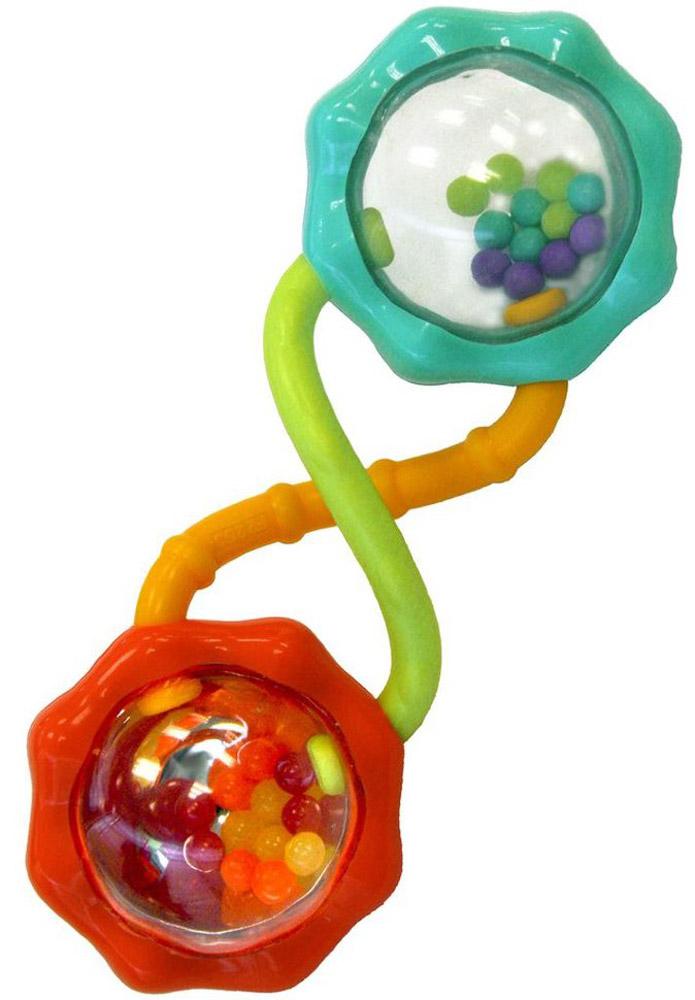 Bright Starts Погремушка Разноцветный калейдоскоп цвет красный бирюзовый погремушки bright starts развивающая игрушка розовый калейдоскоп