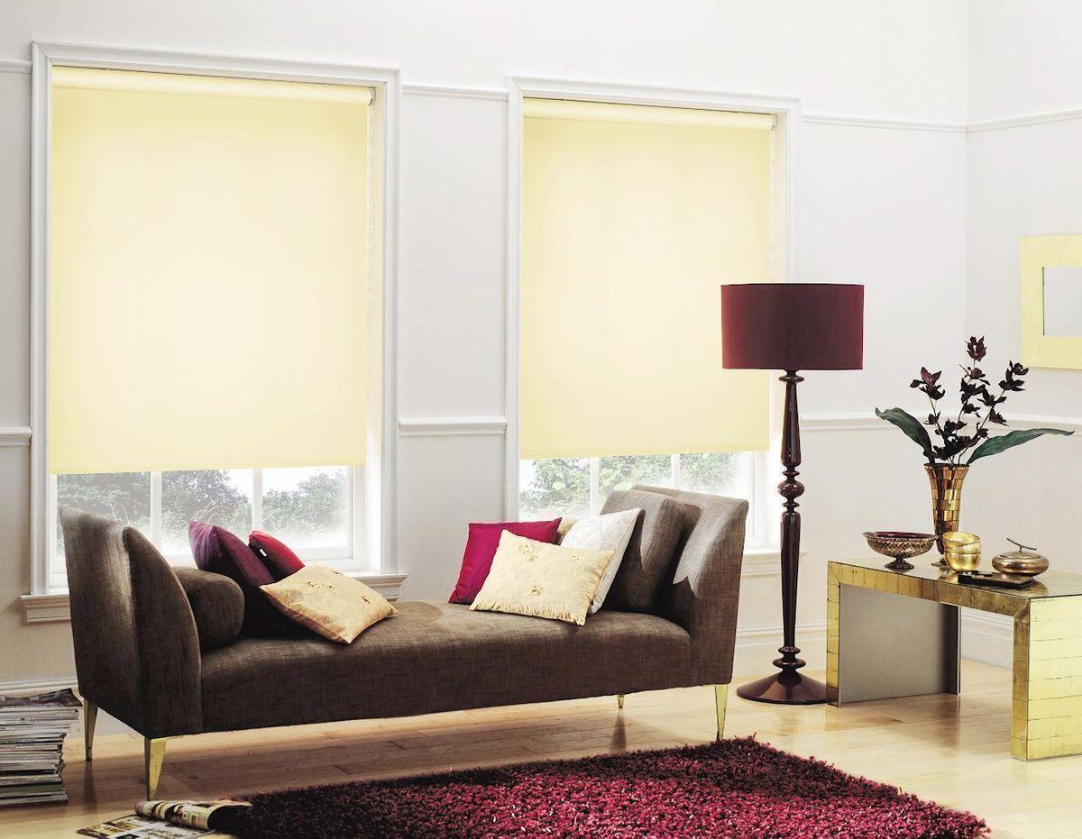 Штора рулонная Эскар, цвет: светлый лимон, ширина 160 см, высота 170 смK100Рулонными шторами можно оформлять окна как самостоятельно, так и использовать в комбинации с портьерами. Это поможет предотвратить выгорание дорогой ткани на солнце и соединит функционал рулонных с красотой навесных.Преимущества применения рулонных штор для пластиковых окон:- имеют прекрасный внешний вид: многообразие и фактурность материала изделия отлично смотрятся в любом интерьере; - многофункциональны: есть возможность подобрать шторы способные эффективно защитить комнату от солнца, при этом о на не будет слишком темной. - Есть возможность осуществить быстрый монтаж. ВНИМАНИЕ! Размеры ширины изделия указаны по ширине ткани!Во время эксплуатации не рекомендуется полностью разматывать рулон, чтобы не оторвать ткань от намоточного вала.В случае загрязнения поверхности ткани, чистку шторы проводят одним из способов, в зависимости от типа загрязнения: легкое поверхностное загрязнение можно удалить при помощи канцелярского ластика; чистка от пыли производится сухим методом при помощи пылесоса с мягкой щеткой-насадкой; для удаления пятна используйте мягкую губку с пенообразующим неагрессивным моющим средством или пятновыводитель на натуральной основе (нельзя применять растворители).