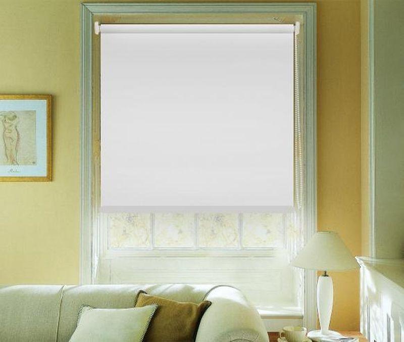Штора рулонная Эскар Blackout, светоотражающая, цвет: белый, ширина 80 см, высота 170 смAMC-00070Рулонными шторами можно оформлять окна как самостоятельно, так и использовать в комбинации с портьерами. Это поможет предотвратить выгорание дорогой ткани на солнце и соединит функционал рулонных с красотой навесных.Преимущества применения рулонных штор для пластиковых окон:- имеют прекрасный внешний вид: многообразие и фактурность материала изделия отлично смотрятся в любом интерьере; - многофункциональны: есть возможность подобрать шторы способные эффективно защитить комнату от солнца, при этом она не будет слишком темной.- Есть возможность осуществить быстрый монтаж.ВНИМАНИЕ! Размеры ширины изделия указаны по ширине ткани!Во время эксплуатации не рекомендуется полностью разматывать рулон, чтобы не оторвать ткань от намоточного вала.В случае загрязнения поверхности ткани, чистку шторы проводят одним из способов, в зависимости от типа загрязнения: легкое поверхностное загрязнение можно удалить при помощи канцелярского ластика; чистка от пыли производится сухим методом при помощи пылесоса с мягкой щеткой-насадкой; для удаления пятна используйте мягкую губку с пенообразующим неагрессивным моющим средством или пятновыводитель на натуральной основе (нельзя применять растворители).