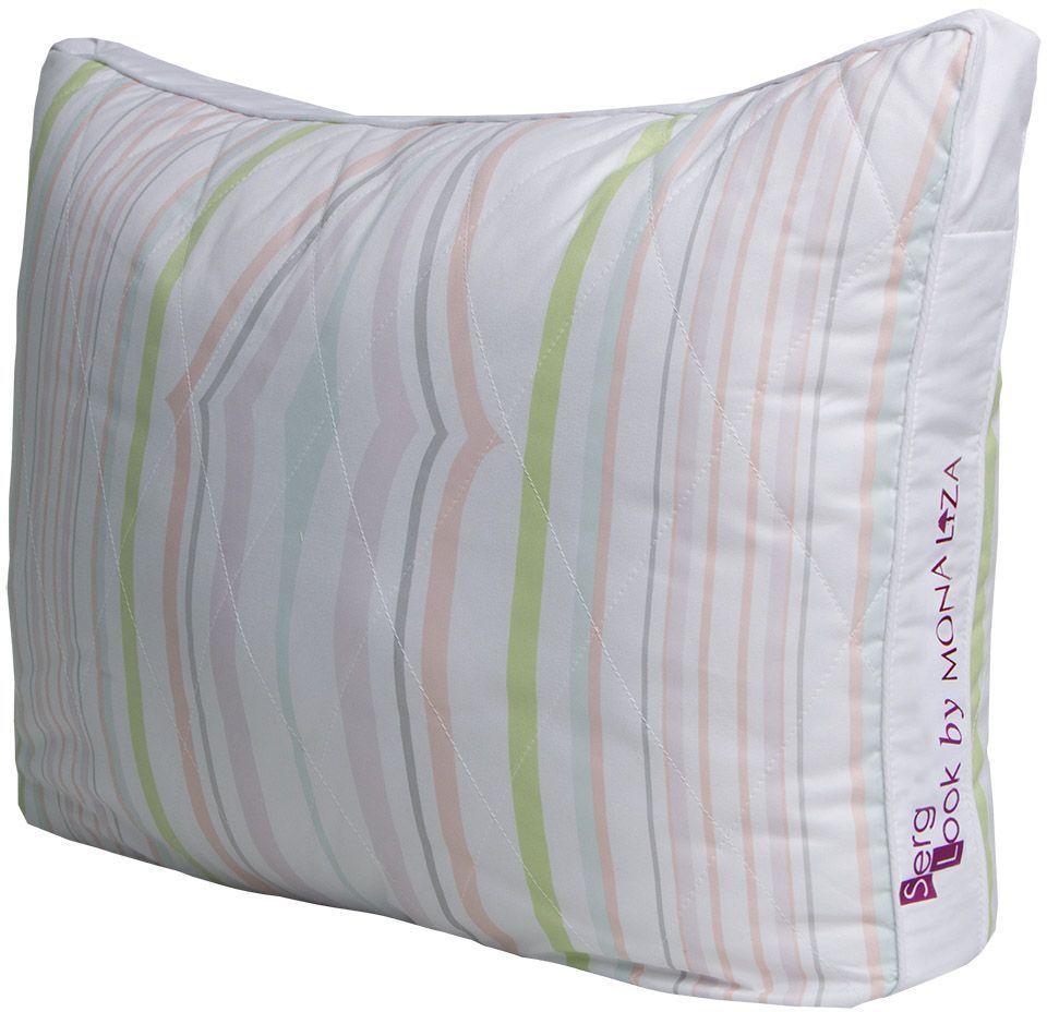 Подушка Mona Liza Secret Gardens, цвет: белый, 50 x 70 см549014Подушка Mona Liza Secret Gardens выполнена из пуходержащего тика. Имеет стеганный чехол (ниточная стежка). Наполнитель - силиконизированное волокно Лебяжий пух.