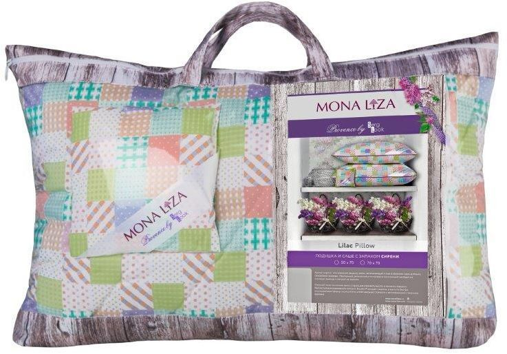 Подушка Mona Liza Provence аромат Lilac, 50 х 70 смS03301004Подушка Mona Liza Provence выполнена из пуходержащего тика. Имеет стеганный чехол (ниточная стежка). Наполнитель - силиконизированное волокно Лебяжий пух. К каждой подушке идет саше. Аромат непременно окутает комнату легким шлейфом нежнейшего парфюма. Не откажите себе в удовольствие и создайте уникальный интерьер с коллекцией Provence!