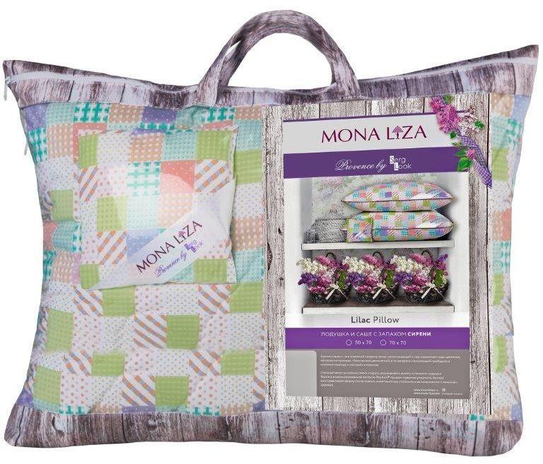 Подушка Mona Liza Provence аромат Lilac, 70 х 70 смpva221618К каждой подушке и одеялу идет саше. Аромат лаванды, розы, жасмина и сирени непременно окутает комнату легким шлейфом нежнейшего парфюма. Не откажите себе в удовольствие и создайте уникальный интерьер с коллекцией PROVENCE!