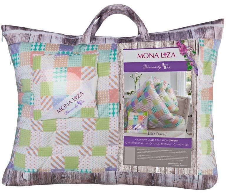 Одеяло Mona Liza Provence аромат Lilac, 195 х 215 см531-105К каждой подушке и одеялу идет саше. Аромат лаванды, розы, жасмина и сирени непременно окутает комнату легким шлейфом нежнейшего парфюма. Не откажите себе в удовольствие и создайте уникальный интерьер с коллекцией PROVENCE!