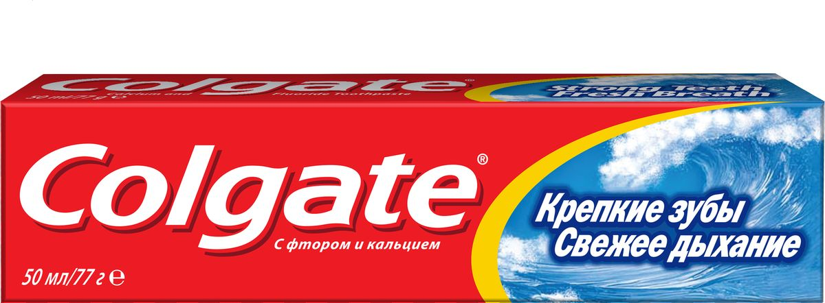 Colgate Зубная паста Свежее дыхание 50 мл зубная паста для собак 8in1 excel canine toothpaste свежее дыхание 92 г