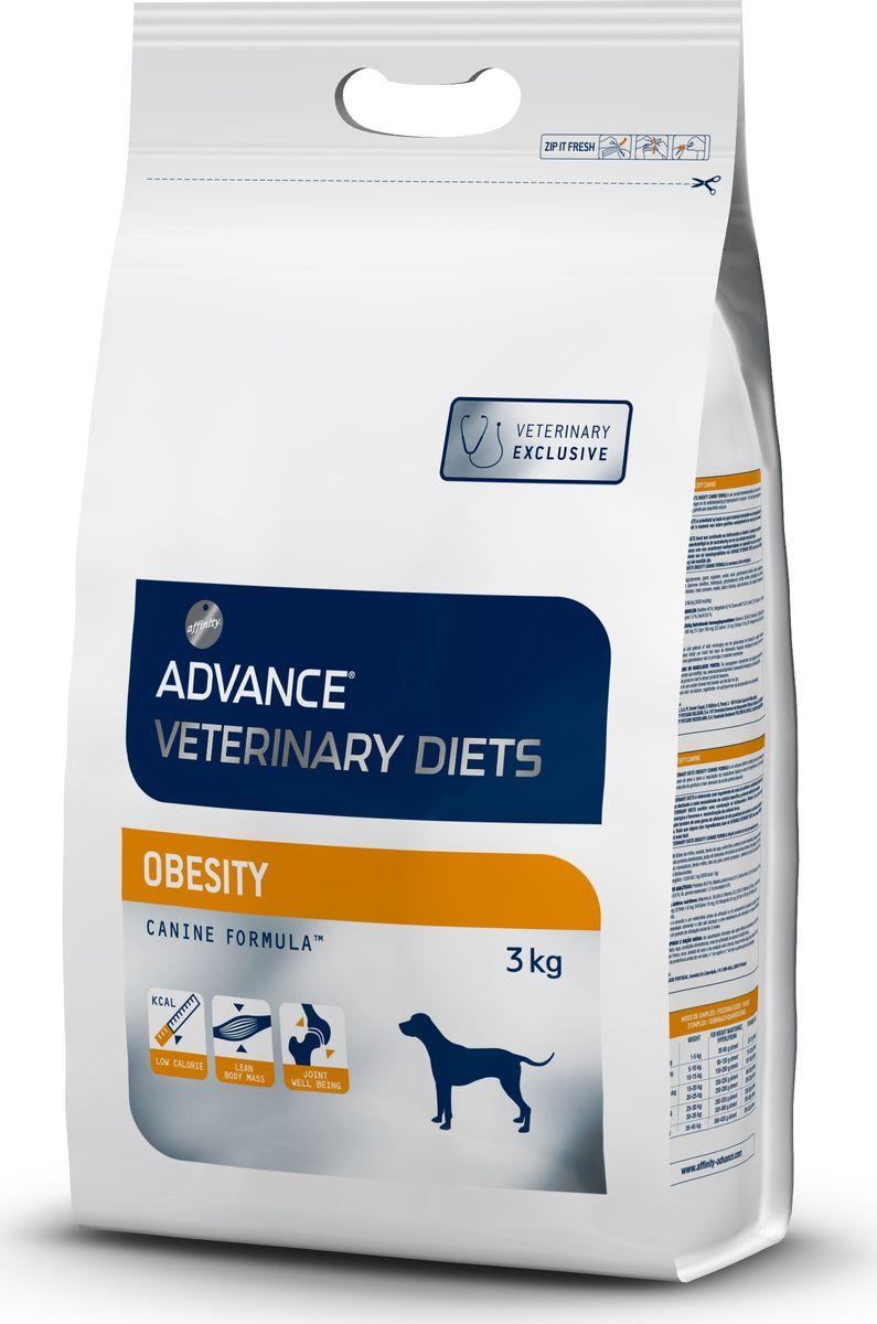 Корм сухой Advance Obesity Management для собак при ожирении, 3 кг0120710Advance - высококачественный корм супер-премиум класса испанской компании Affinity Petcare, которая занимает лидирующие места на европейском и мировом рынках. Корм разработан с учетом всех особенностей развития и жизнедеятельности собак и кошек. В линейке кормов Advance любой хозяин может подобрать необходимое питание в соответствии с возрастом и уникальными особенностями своего животного, а также в случае назначения специалистами ветеринарной диеты. Affinity Petcare имеет собственную лабораторию, а также сотрудничает с множеством международных исследовательских центров, благодаря чему специалисты постоянно совершенствуют рецептуру и полезные свойства своих кормов. В составе главным источником белка является СВЕЖЕЕ мясо, благодаря которому корм обладает высокими вкусовыми качествами, а также высокой питательной ценностью. Состав: маисовый глютен, ячмень, мука из соевых бобов, гороховые волокна, дегидрированный белок свинины, картофельный протеин, пшеничный глютен, дегидрированный белок курицы, свекольный жом, гидролизованные белки животного происхождения, растительные волокна, мука из маиса, кокосовое масло, монокальций фосфат, кукурузные отруби, рыбий жир, хлорид калия, карбонат кальция, соль, соевое масло. Товар сертифицирован.