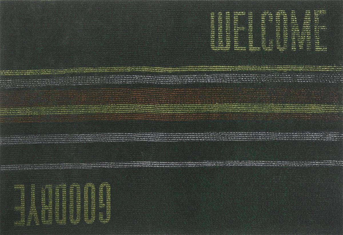 Коврик придверный EFCO Нью Эден, цвет: темно-зеленый, черный, коричневый, 68 х 45 см531-105Оригинальный придверный коврик EFCO Нью Эден надежно защитит помещение от уличной пыли и грязи. Изделие выполнено из 100% полипропилена, основа - суперлатекс. Такой коврик сохранит привлекательный внешний вид на долгое время, а благодаря латексной основе, он легко чистится и моется.