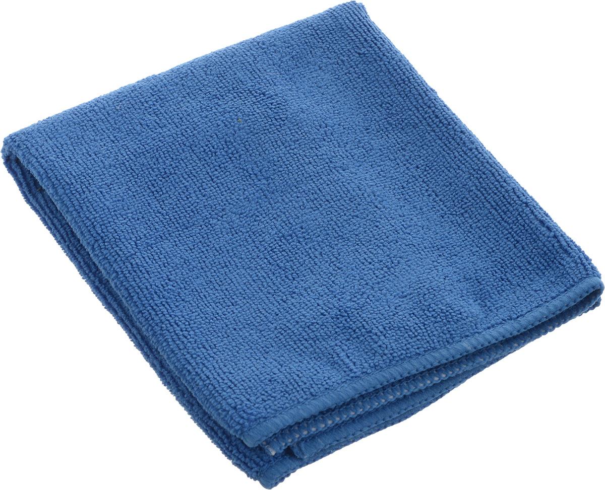 Салфетка из микрофибры Airline, цвет: синий, 35 х 40 смRR659Мягкая салфетка Airline выполнена из микрофибры. Мягкий ворс микрофибры очистит поверхность от пыли и загрязнений, микробов и грибком, и не отставит царапин. Материал хорошо впитывает жидкость, быстро сохнет и не подвержен быстрому износу после многочисленных стирок.