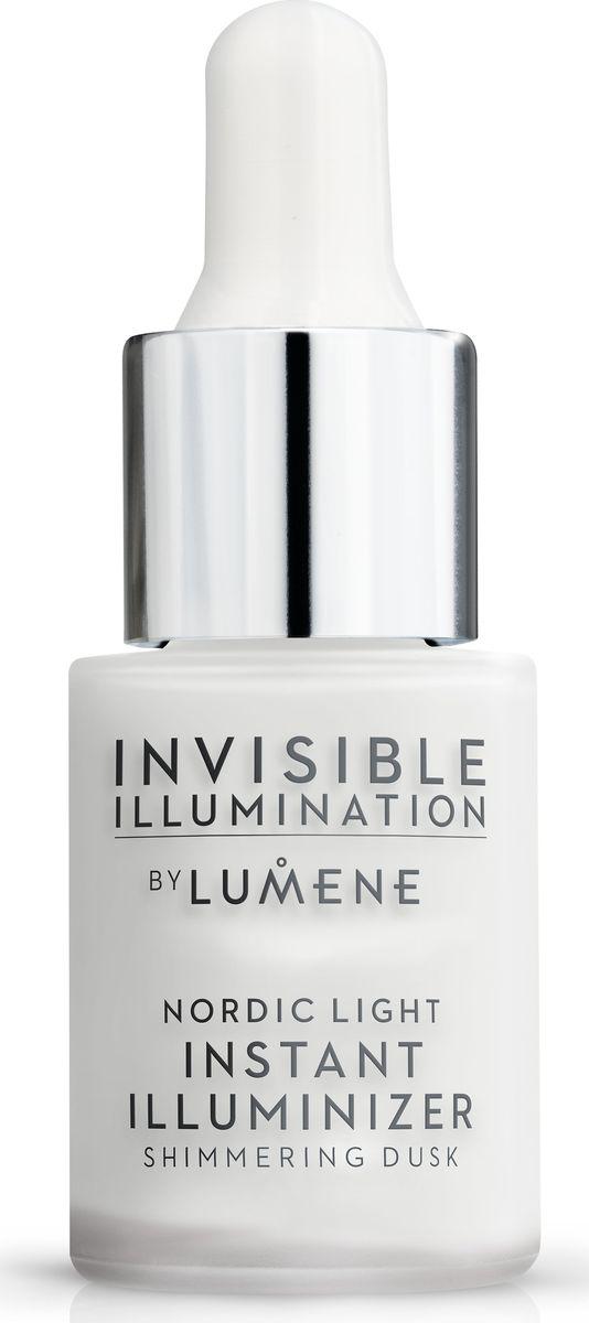 Lumene Ухаживающий хайлайтер, Сумерки Invisible Illumination , 15 мл2101-WX-01Благодаря текстуре легче воды сыворотка создает эффект сияющей вуали, выравнивая тон кожи, одновременно с чем ухаживает и увлажняет. Используйте хайлайтер самостоятельно или в дополнение к макияжу для дополнительного сияния. Вы также можете добавить несколько капель в свой увлажняющий крем или ухаживающую сыворотку-флюид с тонирующим эффектом. Активный компонент: арктическая родниковая вода. Оттенок Сумерки.