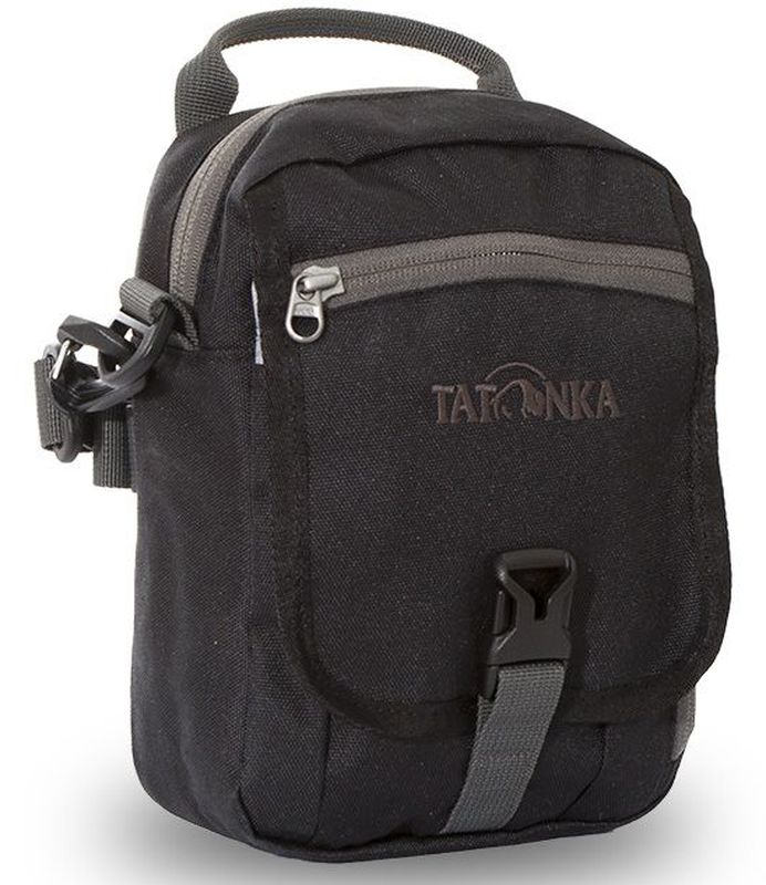 Сумка плечевая Tatonka Check in CLIP, цвет: черный, 22x15x7 см - Сумки на пояс / плечо