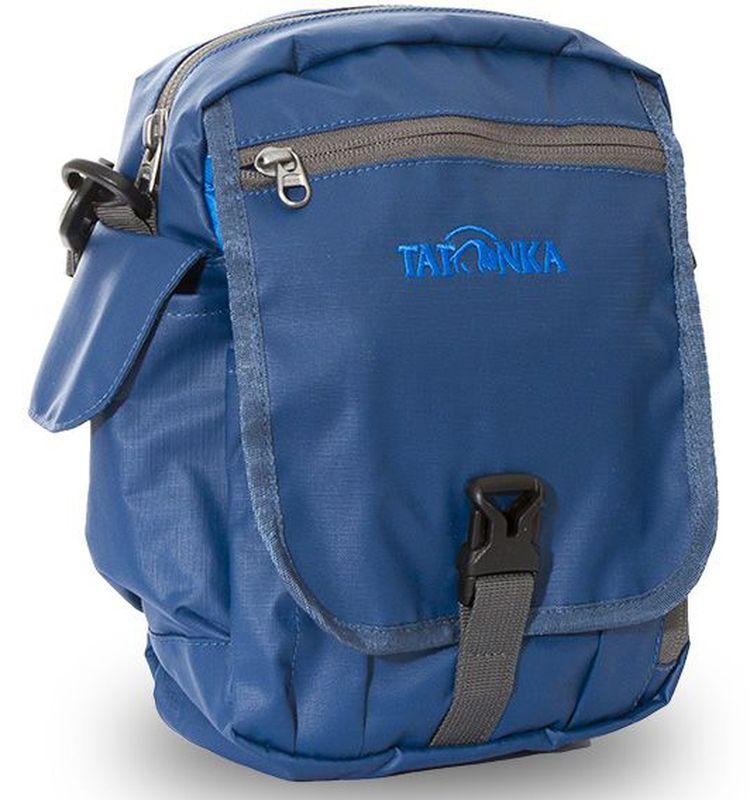 Сумка на плечо Tatonka  Check in Clip , цвет: синий, 23 x 17 x 8 см - Сумки на пояс / плечо