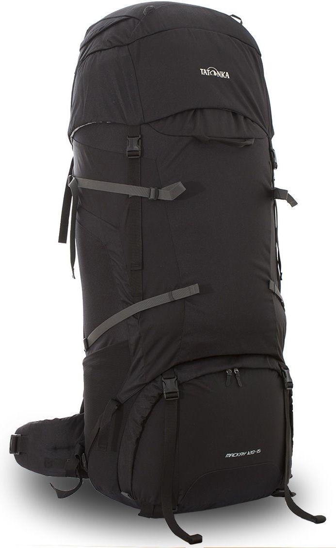 Рюкзак туристический Tatonka Mackay, цвет: черный, 135 л67742Туристический рюкзак Tatonka Mackay выполнен из прочной ткани Textreme 6.6. Два внутренних отделения позволят с удобством разместить все необходимые в походе или путешествии вещи. За счет объемной крышки и расширяющегося основного отделения объем рюкзака достигает 135 литров. Прочная удобная спинка рюкзака выполнена с учетом анатомических особенностей спины человека, благодаря этому с рюкзаком будет комфортно идти даже в продолжительном походе. Нижнее и основное отделения рюкзака разделены съемной перегородкой на молнии, одним движением их можно соединить между собой или снова разделить. Доступ в основное отделение осуществляется через верхний расширяющийся вход или через центральны 3D-доступ. Молния 3D-доступа имеет два бегунка, что позволяет легко достать или положить любые конкретные вещи. Молния в нижнее отделение так же оснащена молнией с двумя бегунками. В центральной части рюкзак имеет две прошитых стропы-molle, благодаря чему на рюкзаке можно закрепить либо дополнительные подсумки или пропустить шнур и прикрепить любые дополнительные вещи.