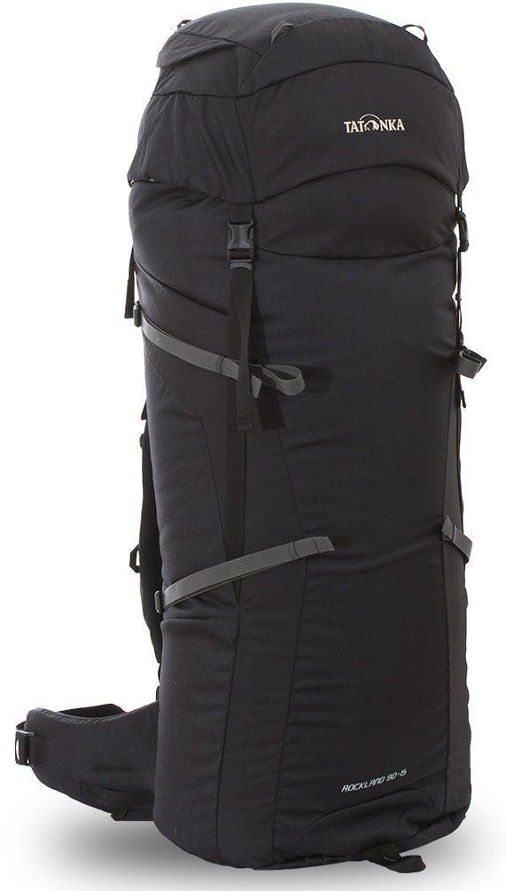Рюкзак туристический Tatonka Rockland, цвет: черный, 105 л67742Классический туристический рюкзак Tatonka Rockland выполнен в строгом дизайне из прочной ткани Textreme 6.6. Два просторных отделения позволит с удобством разместить все необходимые в походе или путешествии вещи. За счет объемной крышки и расширяющегося основного отделения объем рюкзака достигает 105 литров. Прочная удобная спинка рюкзака выполнена с учетом анатомических особенностей спины человека, благодаря этому с рюкзаком будет комфортно идти даже в продолжительном походе. Особенности: - Система подвески Y1. - Одно основное отделение, увеличивающееся в верхней части. - Объемная крышка рюкзака с крючком для ключей.- 4 петли на крышке. - Крышка рюкзака регулируется по высоте (до 25 см выше стандартного положения). - Затяжка внутреннего отделения на один или два шнура, в зависимости от объема заполнения. - 4 боковые затяжки позволяют регулировать объем.- Петли для крепления трекинговых палок. - Два боковых просторных кармана. - Широкий плотный набедренный пояс с двумя параметрами регулировки (по ширине и степени прилегания к рюкзаку).- Спинка рюкзака выполнена с учетом анатомических особенностей спины человека. - Сетчатые элементы в спине и набедренном поясе обеспечивают вентиляцию в жаркую погоду. - Регулируемый по ширине и высоте нагрудный ремень. - В нагрудный ремень вшита резинка для комфорта движения.- Прочная ручка для переноски и помощи при надевании рюкзака. - Молнии YKK.