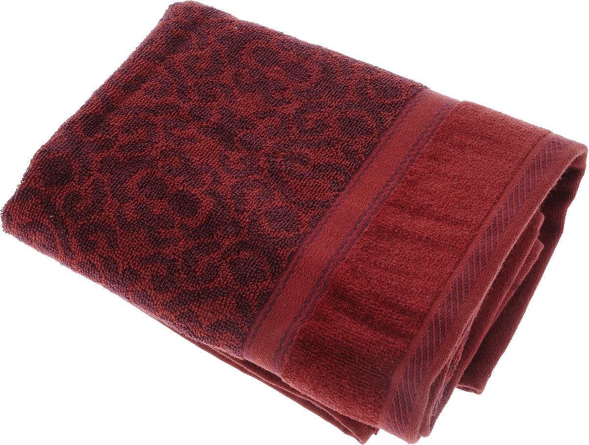 Полотенце махровое Toalla Флора, цвет: бордовый, фиолетовый, 70 x 140 см68/5/4Полотенце махровое Toalla Флора выполнено из 100% натурального египетского хлопка. Изделие оформлено изысканным орнаментом. Ткань полотенца обладает высокой плотностью и мягкостью, отличается высоким качеством и длительным сроком службы. В процессе эксплуатации материал становится только мягче и приятнее на ощупь. Египетский хлопок не содержит линта (хлопковый пух), поэтому на ткани не образуются катышки даже после многократных стирок и длительного использования. Сверхдлинные волокна придают ткани характерный красивый блеск. Полотенце отлично впитывает влагу и быстро сохнет. Такое полотенце красиво дополнит интерьер ванной комнаты и станет практичным приобретением.