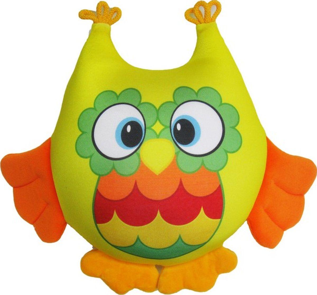 СмолТойс Мягкая игрушка-антистресс Совенок 29 см игрушка антистресс смолтойс совенок 29 см сиреневая
