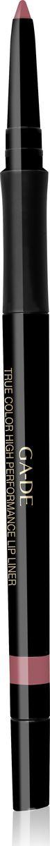 Ga-de Карандаш для губ True Color № 03, 0,35 гр28032022Водостойкий контурный карандаш для губ. Мягкая кремовая текстура предотвращает смазывание и растекание помады в течении дня. Не меняет свой цвет и не тускнеет, подчеркивает естественную форму губ. Формула, обогащенная комплексом керамидов и гиалуроновой кислотой обеспечивает чувственный уход занежной кожей губ. Не требует затачивания.
