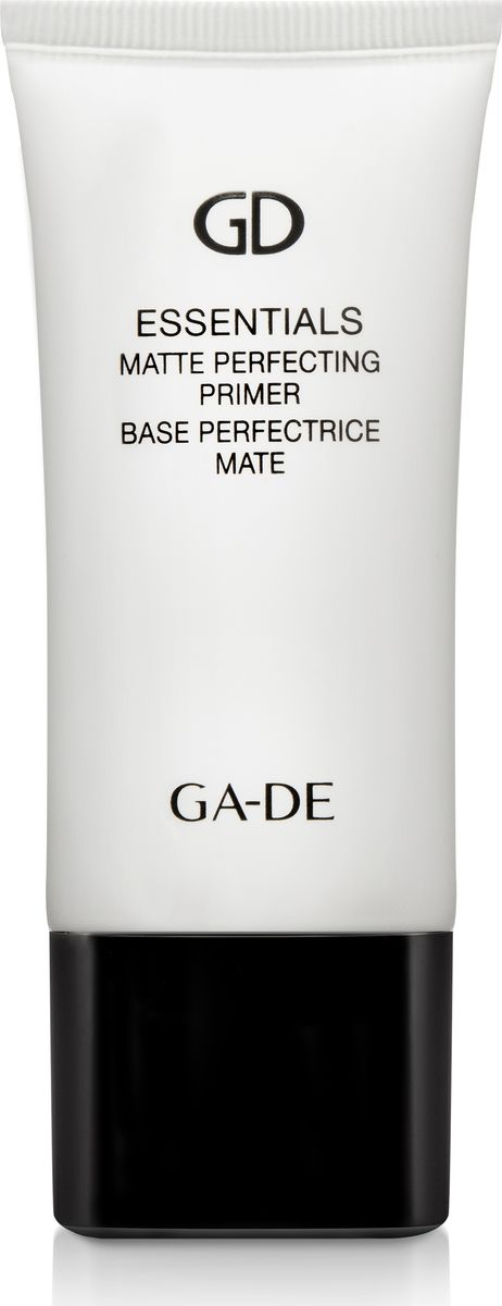Ga-de Корректирующий Праймер Essential Matte, 30 мл28032022Объемный (3D) эластомер создает стойкое покрытие, визуально уменьшает поры и разглаживает поверхность кожи, скрывает неровность тона и несовершенства кожи(тусклость, шероховатость, морщинки). Убирает жирный блеск, при этом не сушит кожу, создает невесомое покрытие. Содержит уникальный комплекс соляроса, для повышения увлажнения кожи, и экстракт зеленого чая, для регенерации и защиты кожи.