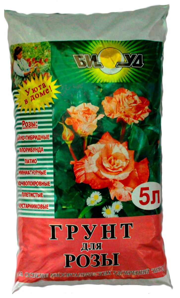 Грунт БИУД, для роз, многокомпонентный, 5 л