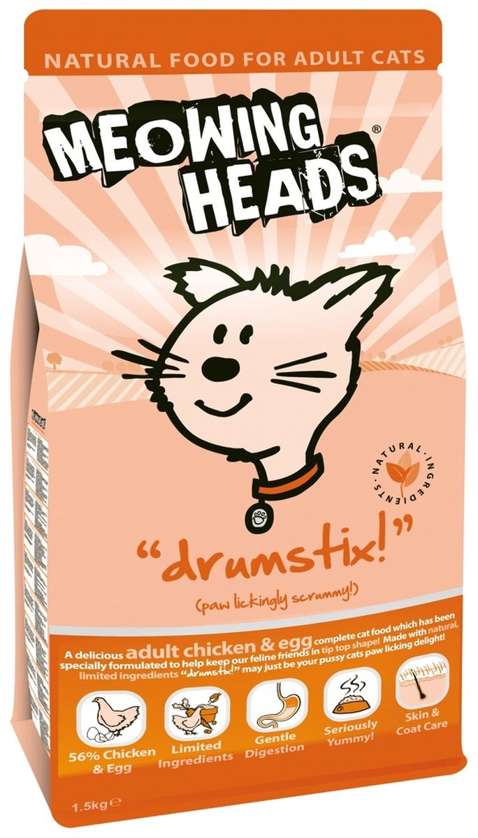 Корм сухой Barking Heads Аппетитная курочка для взрослых кошек, с курицей и яйцом, 1,5 кг0120710Сухой корм Barking Heads Аппетитная курочка - вкуснейший полнорационный корм для взрослых кошек с курицей и яйцом, специально разработанный, чтобы держать наших любимцев в наилучшей форме! Натуральные ингредиенты непременно понравятся вашему питомцу. Состав: 56% курицы и яйца (20% свежего куриного филе, 20% дегидрированного куриного мяса, 11% сухого яичного продукта , 2,5% куриного бульона 2,5% куриного жира) бурый рис, 11% дегидрированной рыбы, овес,1% лососевого жира, томаты, морские водоросли, овощная клетчатка, морковь, клюква.Гарантированный анализ: белок 34%, жиры 18%, клетчатка 2,5%, зола 9%, влага 7%, омега-6 2,7%, омега-3 1%, таурин 1000 мг/кг.Витамины: витамин A 24,700 ME, витамин D 3 1,680 ME, витамин E 320 МЕ.Комплект микроэлементов: моногидрат сульфата железа 592 мг, моногидрат сульфата цинка 411 мг, моногидрат сульфата марганца 81 мг, пентагидрат сульфата меди 30 мг, безводный йодат кальция 3,64 мг, селенит натрия 0,41 мг.Товар сертифицирован.