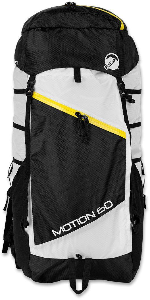 Туристический рюкзак Klymit MOTION 60, цвет: черно-бе лый, 60 л - Туристические рюкзаки