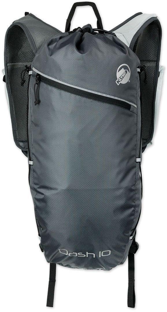 Туристический рюкзак Klymit Dush 10, цвет: серый, 10 л - Туристические рюкзаки