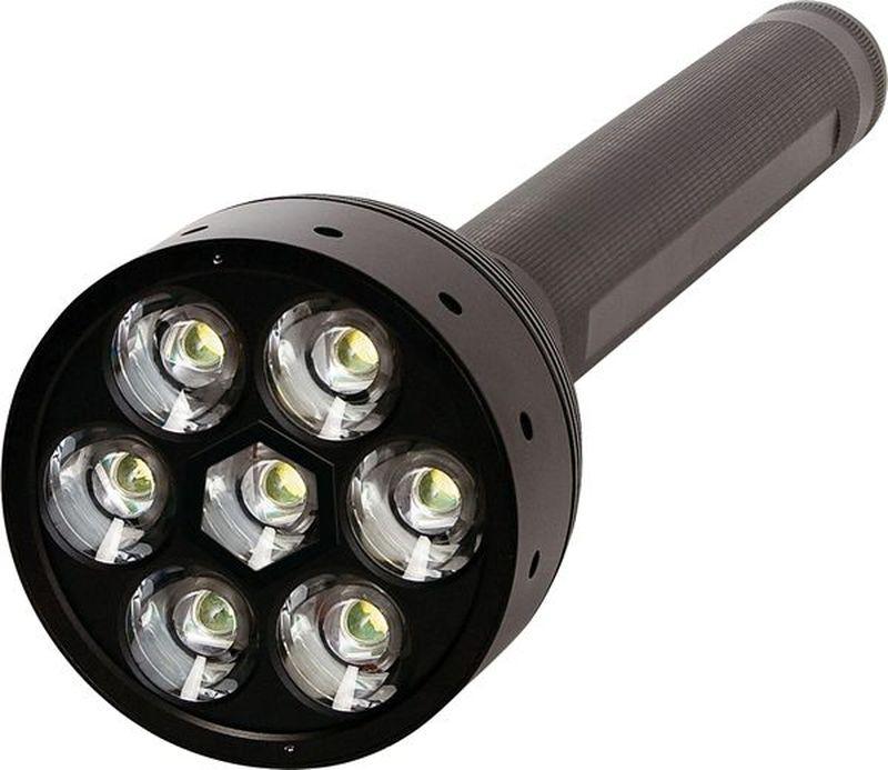 Фонарь LED Lenser X21.2, цвет: черный. 9421KOC2028LEDФонарь повышенной яркости. Световой поток- 1 600 лм. Три режима свечения. Время свечения до 1 лм - 100 часов. Длина - 395 мм. Вес - 1 488 г. Питание - 4 х D (в комплекте). Количество светодиодов - 7. Эффективная дальность свечения – до 600 м. Пластиковый кейс. Система AFS. Система SLT (Умный свет) Упаковка - пластиковый кейс.
