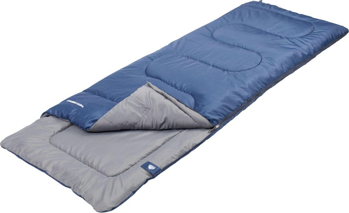 Спальный мешок Trek Planet Camper Comfort, цвет: синий, левосторонняя молния010-01199-23Комфортный, легкий и очень удобный в использовании, спальник-одеяло с подголовником Trek Planet Camper Comfort предназначен для походов преимущественно в летний период. Этот спальник пригодится вам во время поездки на пикник, на дачу, во время туристического похода.ОСОБЕННОСТИ СПАЛЬНИКА:- Удобный плоский подголовник,- Термоклапан вдоль молнии,- Молния с левой стороны,- Внутренний карман,- Небольшой вес,- К спальнику прилагается чехол для удобного хранения и переноски. ХАРАКТЕРИСТИКИ:Цвет: синийt° комфорт: 14°Ct° лимит комфорт: 9°Ct° экстрим: 0°C.Внешний материал: 100% полиэстер Внутренний материал: 100% полиэстерУтеплитель: Hollow Fiber 1x200 г/м2.Размер: (190+30) см х 80 см.Размер в чехле: 22 см х 22 см х 38 см.Вес: 1,15 кг.Производитель: Китай.Артикул: 70326-L.